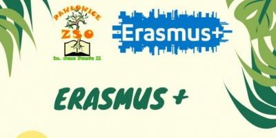 "Konkurs - logo projektu Erasmus+ ""Clean environment joins the nations"""